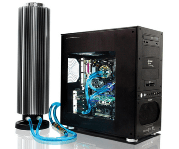 External radiator water cooling system from TechRadar