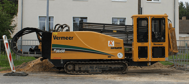 Selecting horizontal directional drilling (HDD) machine