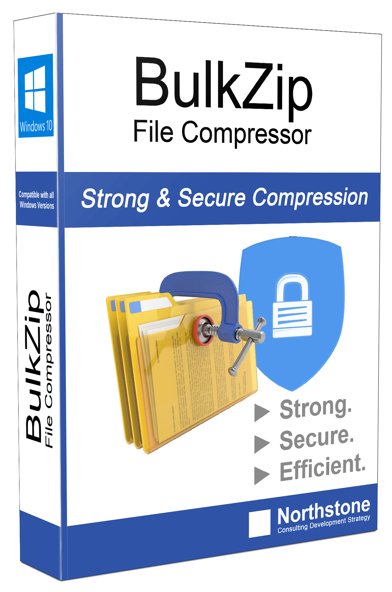 Selecting file compression software program application