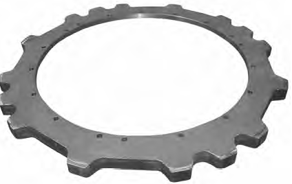 Gap-tooth Sprocket image