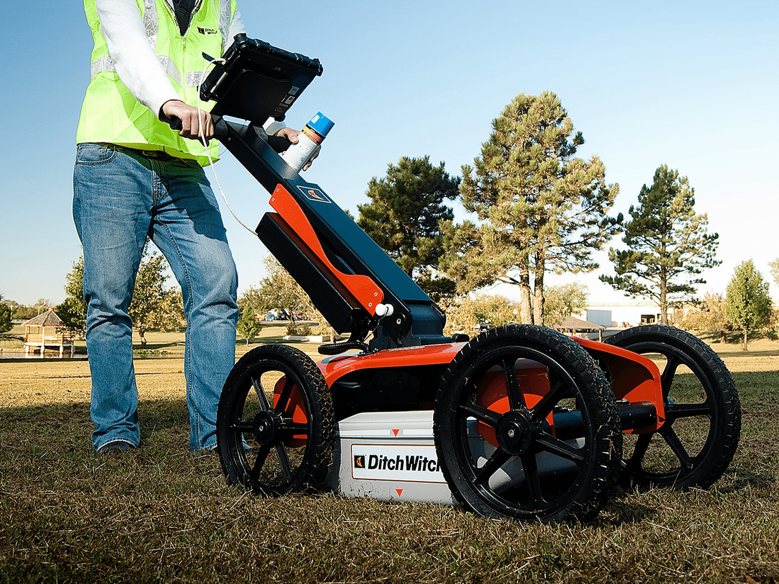 Selecting ground penetrating radar info