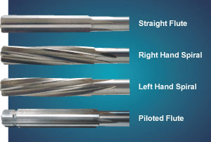 Reamer flute specifications