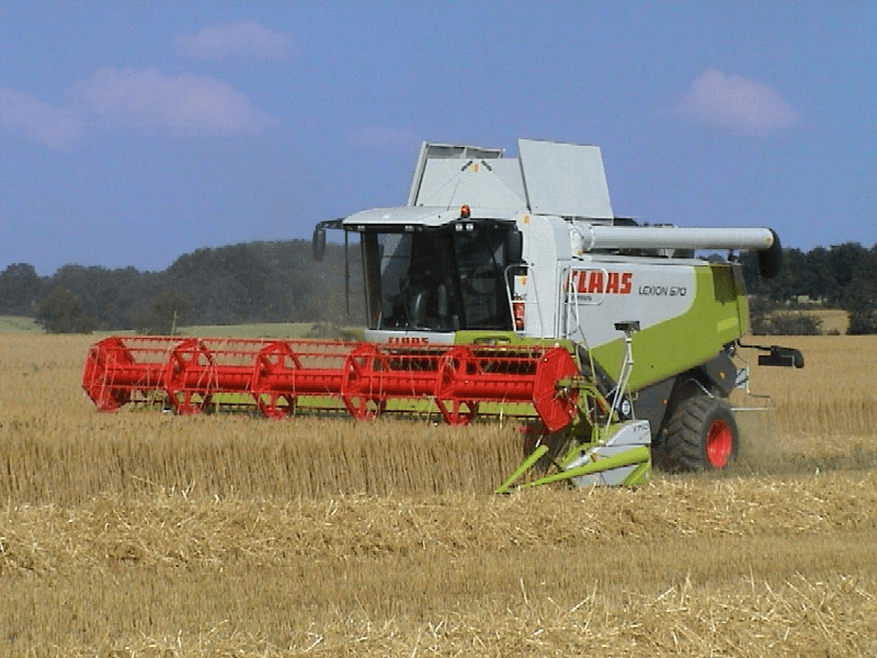 Selecting combine harvesters