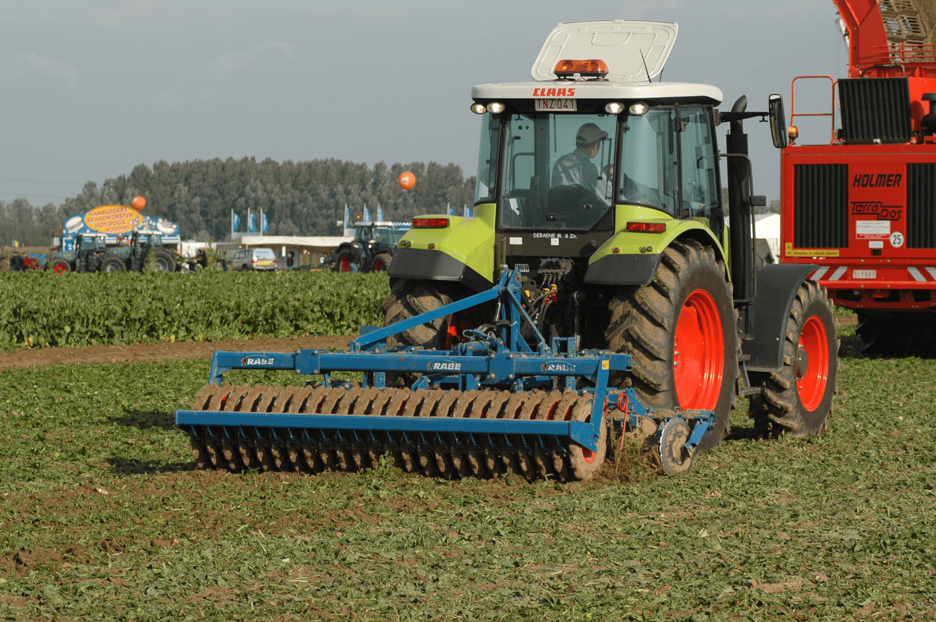 Selecting agricultural harrows