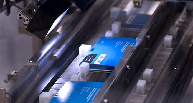 Selecting pharmaceutical packaging information