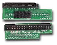 68- to 50-pin male-to-male SCSI converter