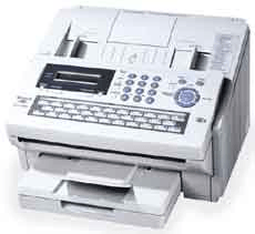 Plain paper laser fax machine from Kyocera