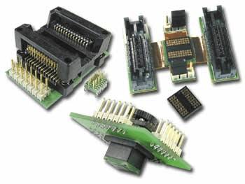 Selecting integrated circuit probe analysis adapter