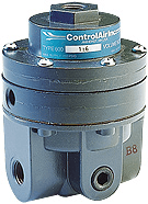 Pneumatic relays and volume booster from ControlAir Inc.