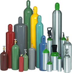 Compressed gas cylinders via Cyl-Tec