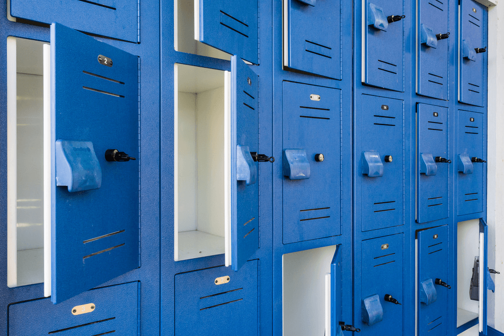Lockers from Flickr