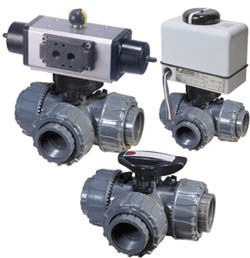 Assoted mixing valves