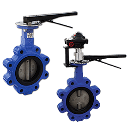 Manual and Gear Operated Butterfly Valves image