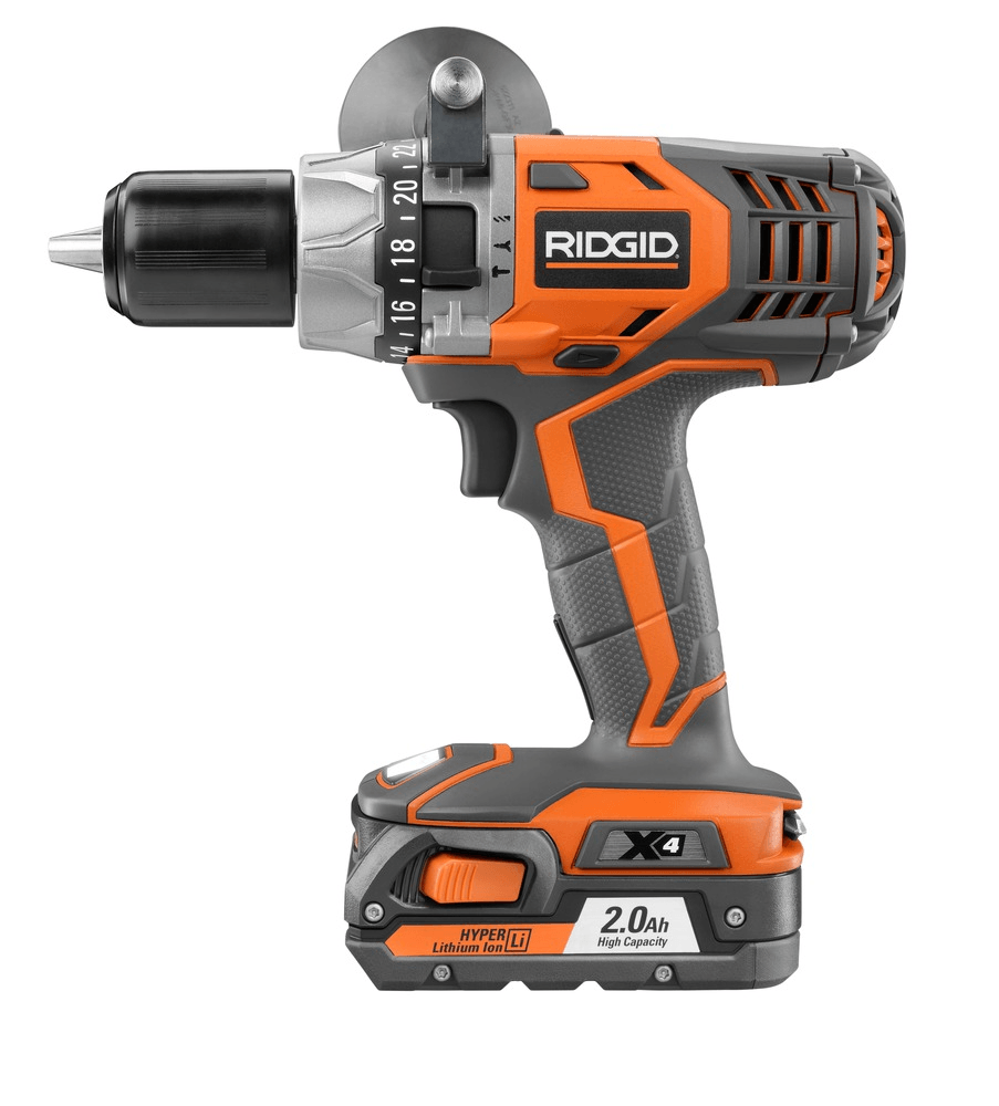 Hammer drill and driver example