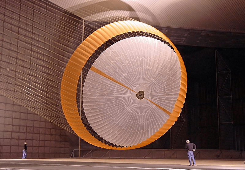 NASA disc-gap chute