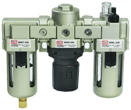 Filter, regulator and lubricator (FRL) assembly