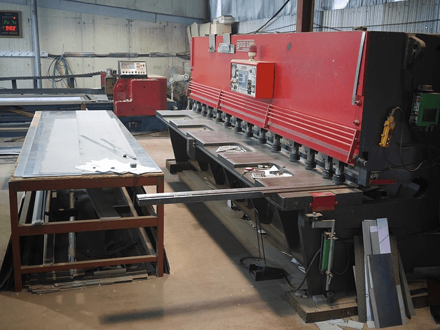 Shearing Machines Sheet Metal Information Engineering360