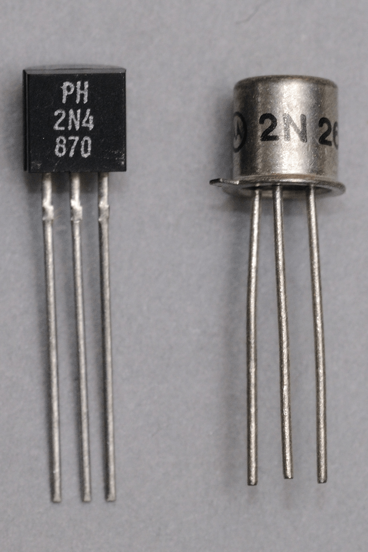 Programmable Unijunction Transistors Put Selection Guide