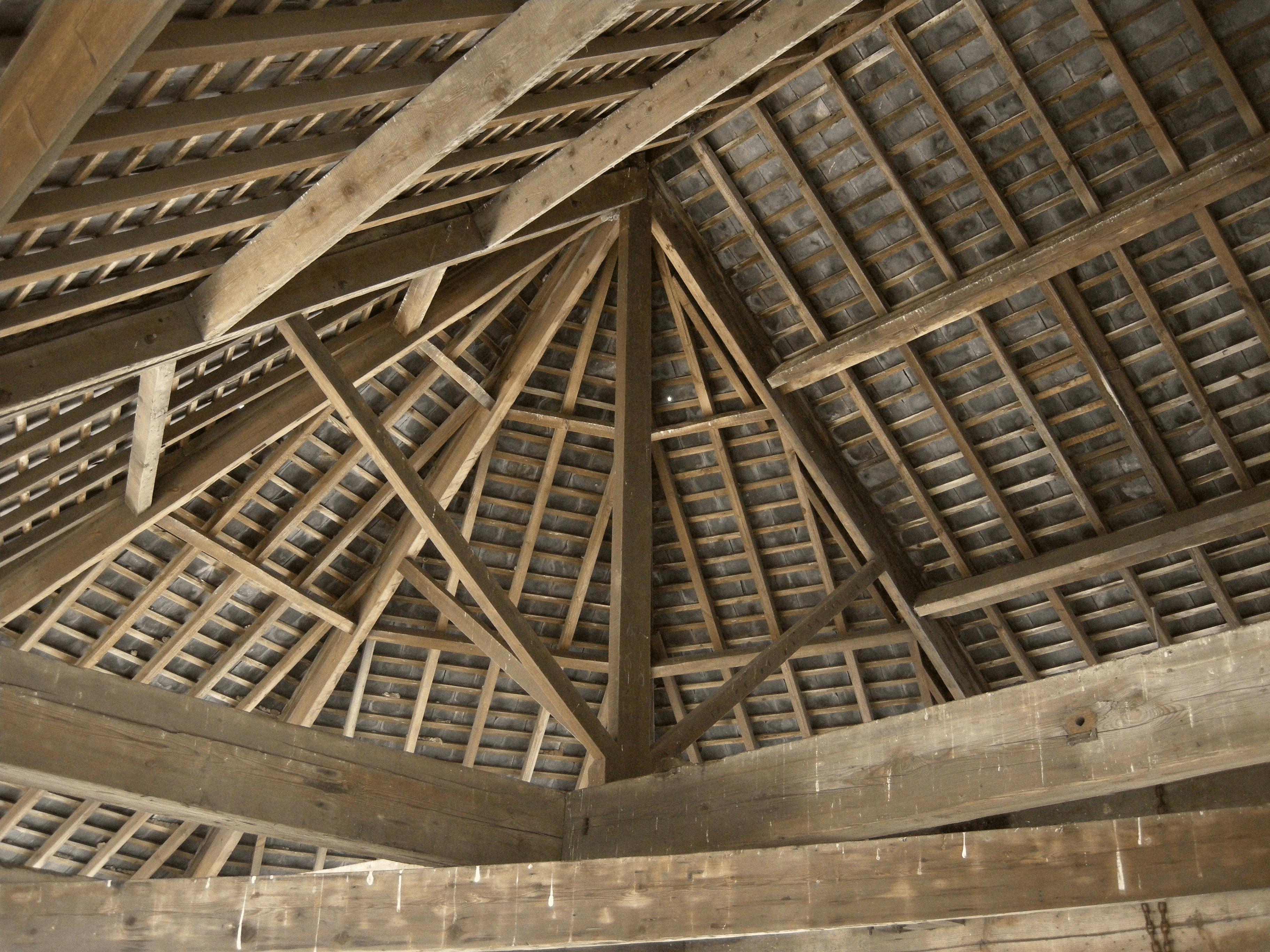 Rafters, Beams, And Joists