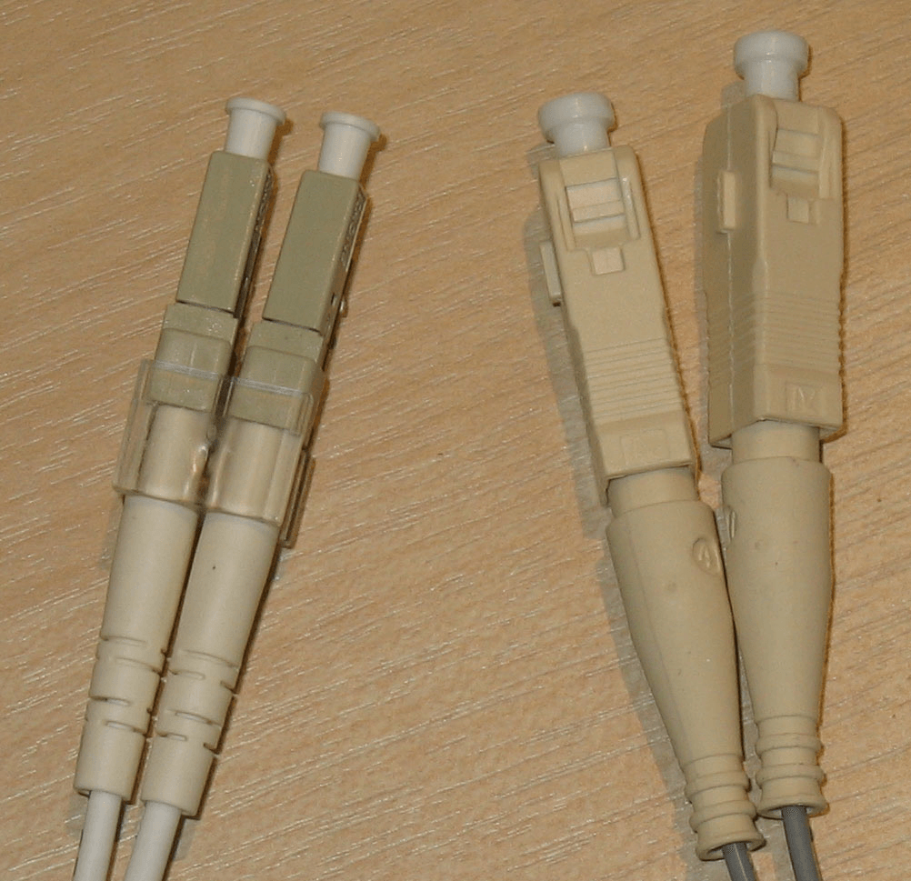 Fiber channel connectors