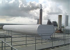 Plant wide ventilation, heating and humidity control system