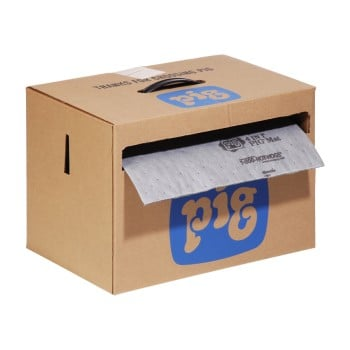 PIG® 4 in 1® Absorbent Mat Roll in Dispenser Box