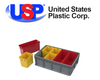 U.S. Plastic Corporation - Akro-Mils® Multi-Load Tote, Cups & Dividers