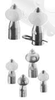 BEX Spray Nozzles - Rotating Spray Nozzles - 360 degree coverage