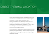 Branch Environmental Corp. - What is DIRECT THERMAL OXIDATION?