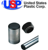 U.S. Plastic Corporation - Round Black Tubing Plugs by U.S. Plastic Corp