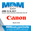 Canon USA Motion Control - Come See Us at MD&M East