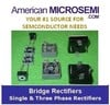 American Microsemiconductor, Inc. - Bridge Rectifiers single Phase and three phase