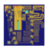 MMIC Wide Band Driver GaN Amplifier / 2 - 20 GHz-Image