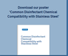 Baker - Common Disinfectant Chemical Compatibility