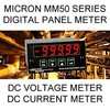Micron Instruments & Micron Meters - Micron Digital Panel Meter | DC Volts | DC Current
