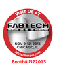 VISIT US AT FABTECH Booth # N22013-Image