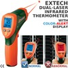 Flir Commercial Systems - 42509: Dual-Laser IR Thermometer w/Color Alert