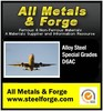 All Metals & Forge Group, LLC - D6AC Alloy - D6AC low alloy vacuum melted steel