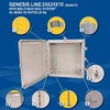 Integra Enclosures, Inc. - LARGE 24x24x10 NEMA Polycarb Enclosures