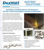 Dexmet Corporation - Expanded Metals for energy storage technologies