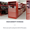Rousseau Metal inc. - High-density Storage