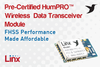 Linx Technologies - Pre-Certified, Low Cost RF Data Modules
