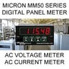 Micron Instruments & Micron Meters - Micron Digital Panel Meter | AC Volts | AC Current