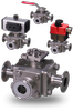 3A Approved Clean Service 3-Way Diverter Valves-Image