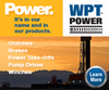 WPT Power Corporation - WPT Brakes & Clutches for Oil & Gas exploration