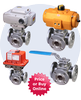 Assured Automation - 3-Way CS/SS Flanged Ball Valve-MPF Series