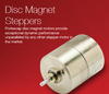 Portescap - Disc Magnet Stepper Motors by Portescap