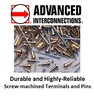 Advanced Interconnections Corp. - Highly-Reliable Screw-Machined Terminals and Pins
