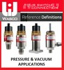 Reference Definitions - Pressure & Vacuum Switches-Image