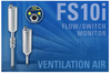 Fluid Components Intl. (FCI) - FS10i Ventilation Air Flow Switch Meets NFPA86